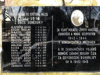 Pomník Soběsuky