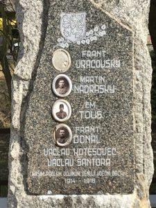 Pomník Vojovice